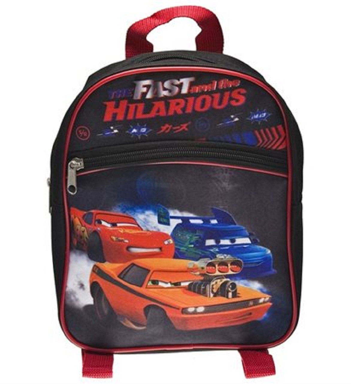Backpack - Cars - Mini 10 Inch - Fast and the Hilarious