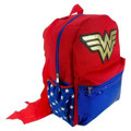 Backpack - Wonder Woman - Large 16 Inch - Sequins Pocket