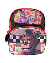 Backpack - Five Nights at Freddys - Large 16 Inch - 3D