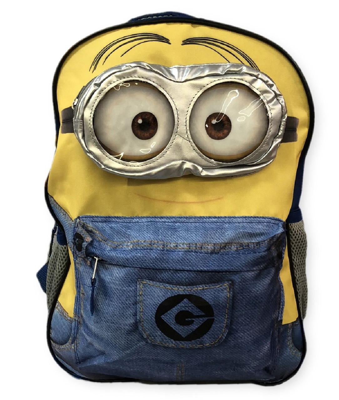 Backpack - Minions - Large 16 Inch - Blue Pants