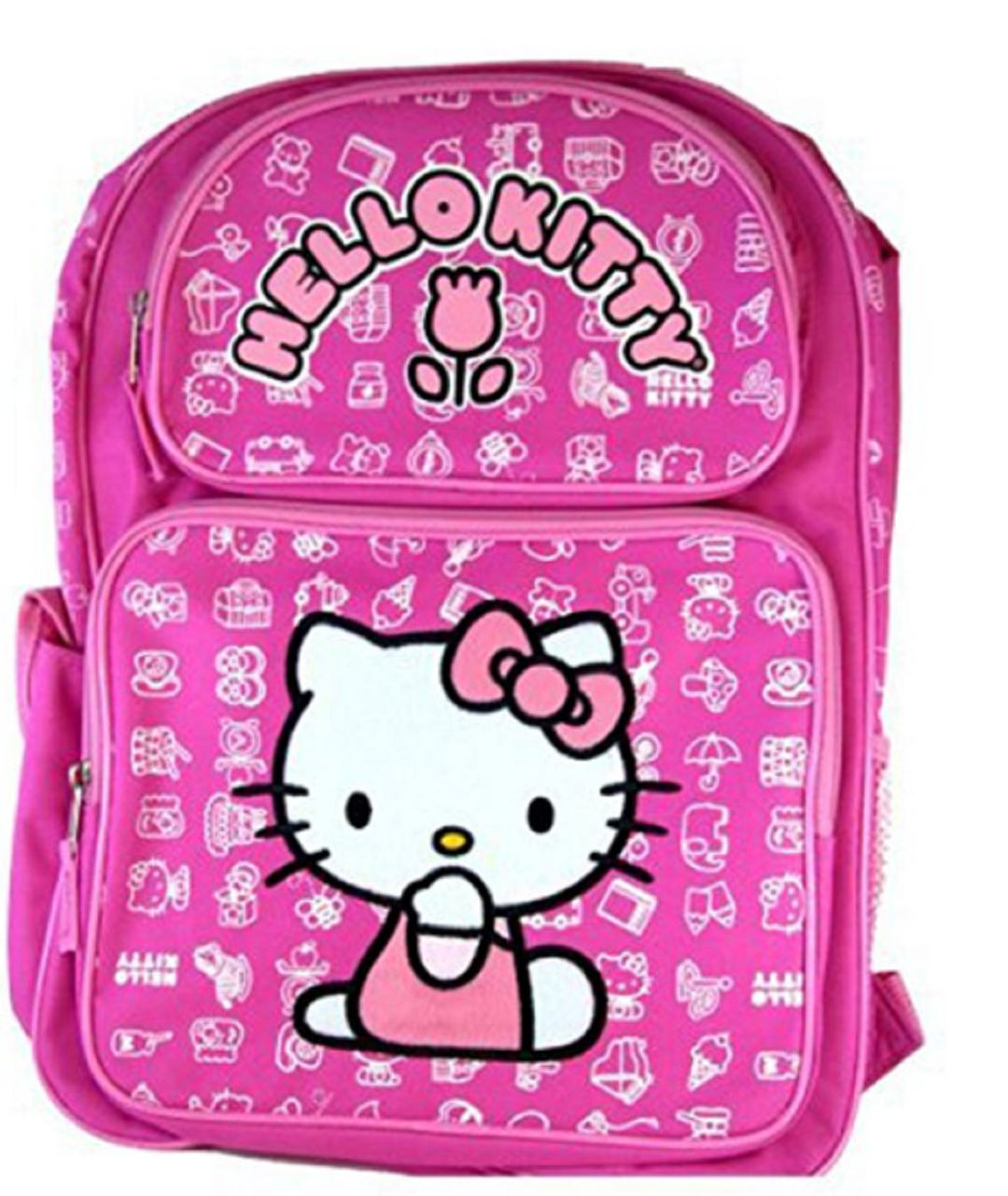 94940c4a9eb7 Backpack - Hello Kitty - Large 16 Inch - White Designs