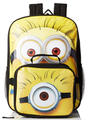 Backpack - Minions - Large 16 Inch - W Lunch Box