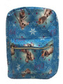 Backpack - Frozen - Large 16 Inch - Light Blue - All Over Print