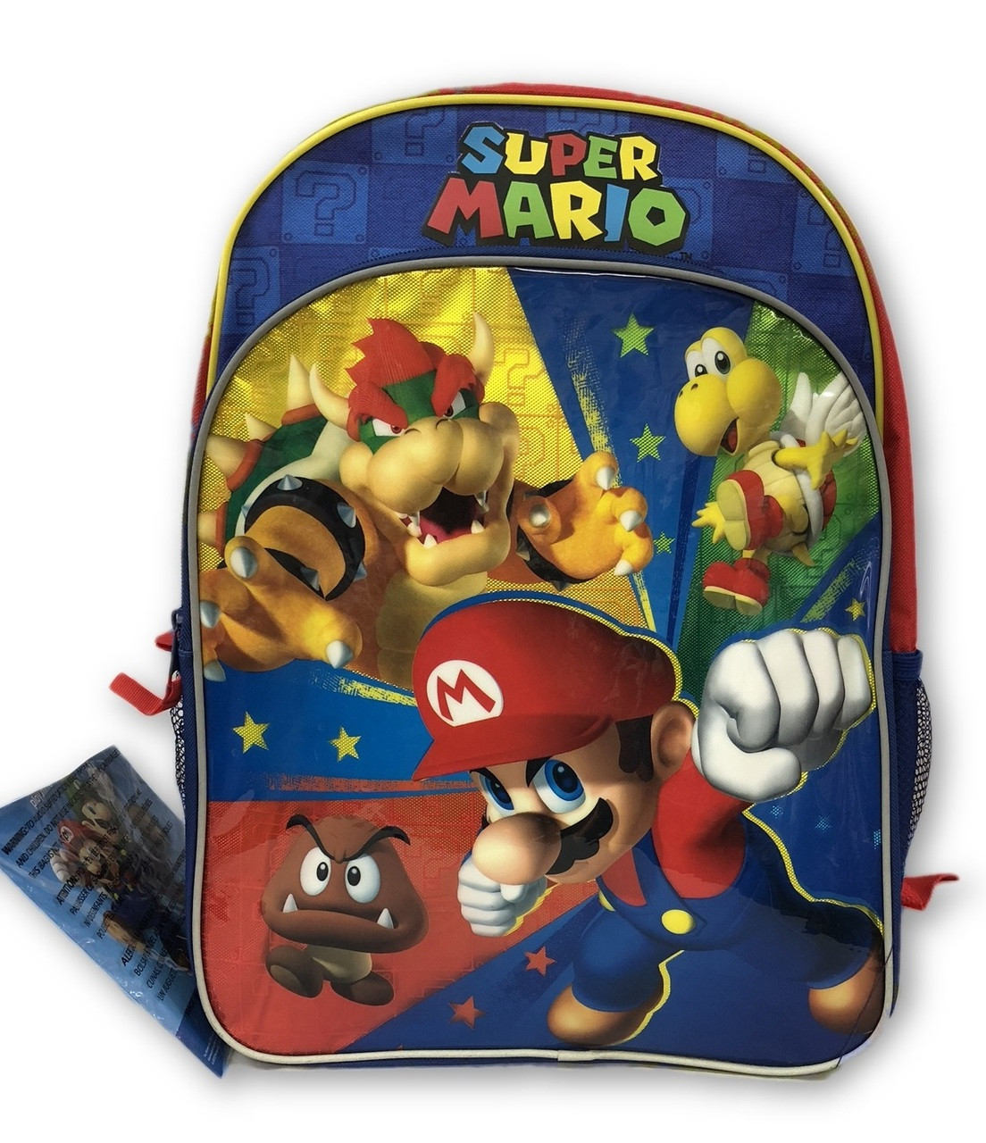 Backpack - Super Mario Brothers - Large 16 Inch - Bad Guys