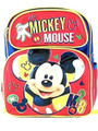 Backpack - Mickey Mouse - Small 12 Inch - Red - M28