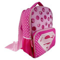 Backpack - Supergirl - Large 16 Inch - Pink