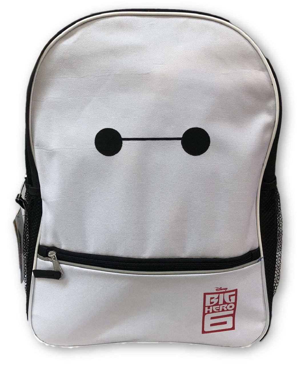 Backpack - Big Hero 6 - Large 16 Inch - White Baymax