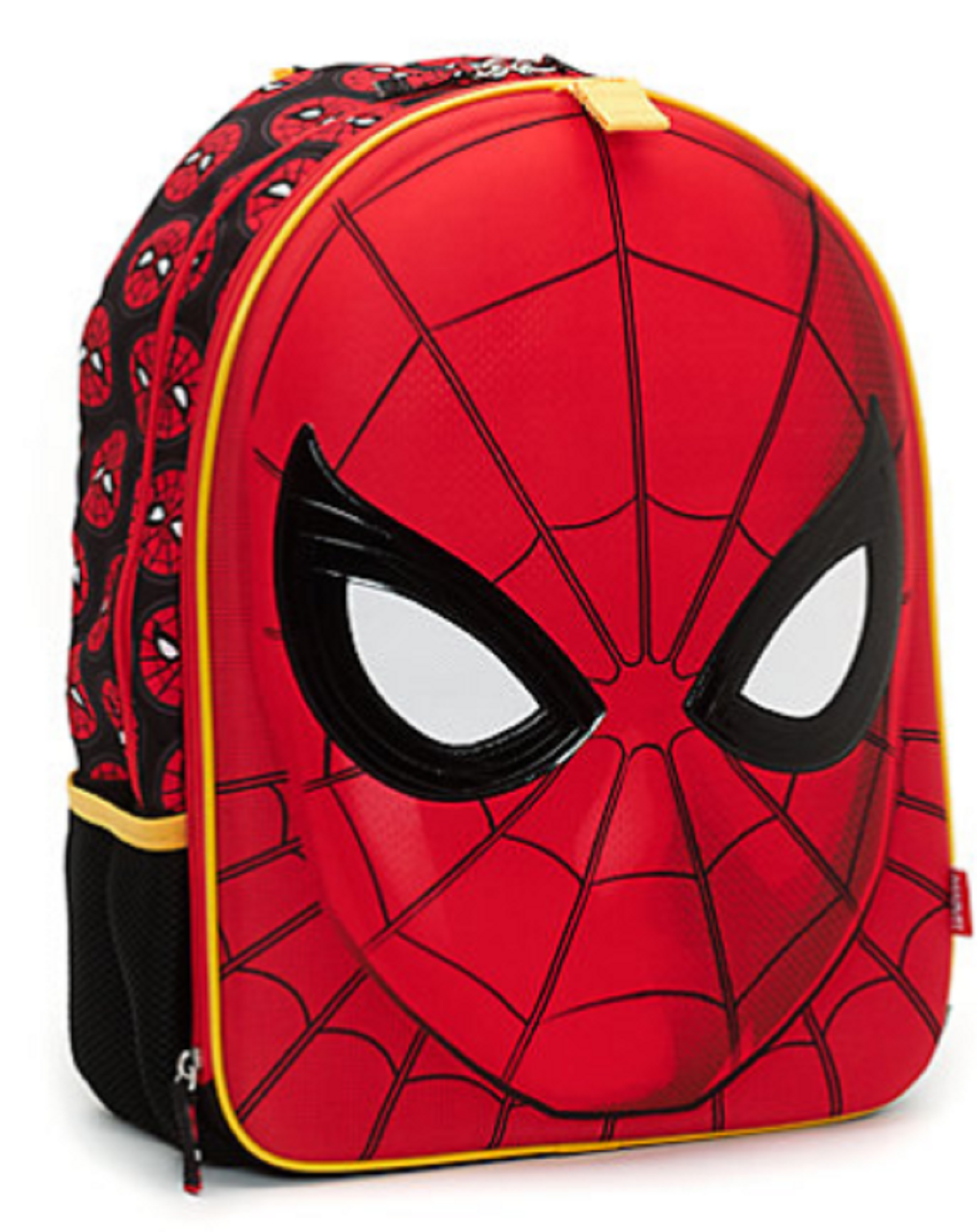 Backpack - Spiderman - Large 16 Inch - Red - 3D Face