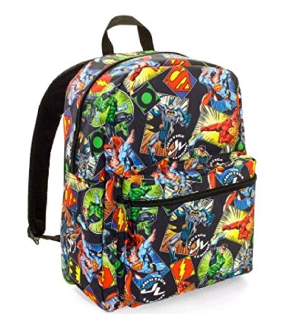 Backpack - Superman - Large 16 Inch - All Over Print