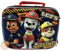 Lunch Box - Paw Patrol - Red - 3D - Insulated