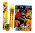 Stationery Set - Transformers - Yellow - 6pc Favor Set