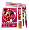 Stationery Set - Minnie Mouse - Multicolored - 6pc Favor Set