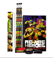 Stationery Set - Ninja Turtles - Multicolored - 6pc Favor Set