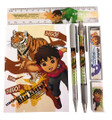 Stationery Set - Diego - Brown - 6pc Favor Set