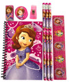 Stationery Set - Sofia the First - Hot Pink - 6pc Favor Set