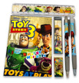 Stationery Set - Toy Story - Yellow - 6pc Favor Set