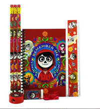 Stationery Set - Coco - Red - 6pc Favor Set
