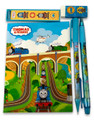 Stationery Set - Thomas the Train - Blue - 6pc Favor Set