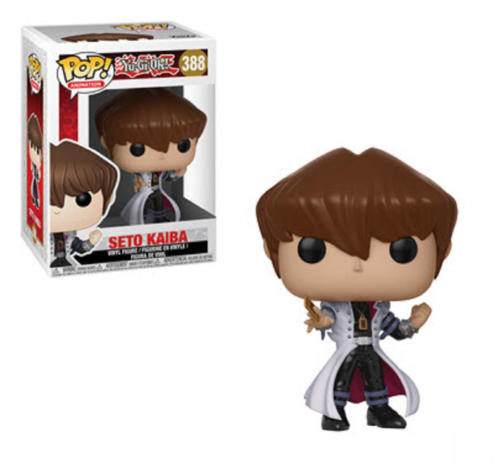 Funko Pop! Animation Yu-Gi-Oh Seto Kaiba Vinyl Figure