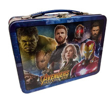 Tin Lunch Box - Marvel Avengers Infinity War - Blue XL