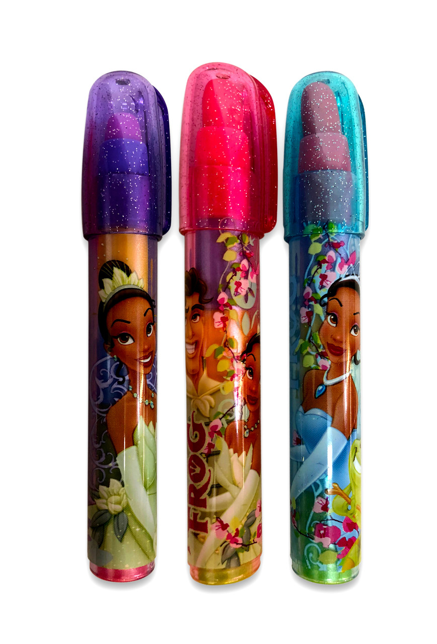 Erasers - Tiana - 3ct - Party Favors - Stackable - Princess and the Frog