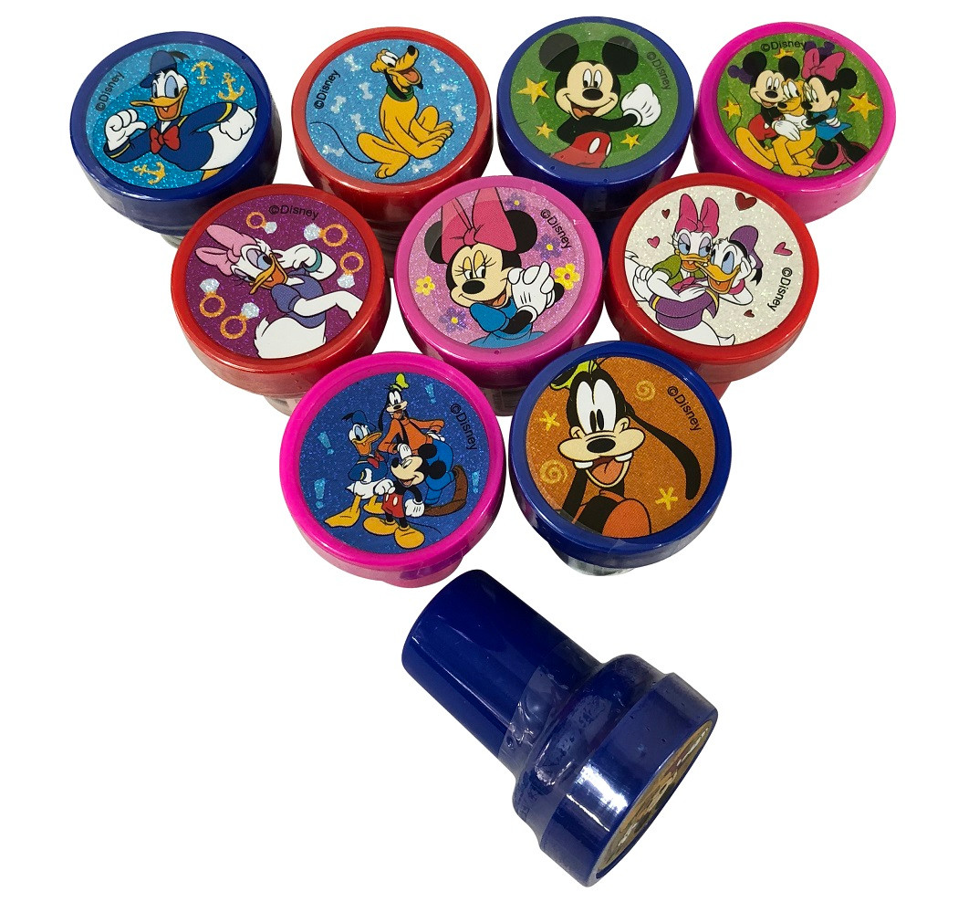 Party Favors - Minnie Mouse - Stampers - 10ct - Self Inking
