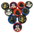Party Favors - Star Wars - Stampers - 10ct - Self Inking