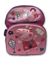 Backpack - Peppa Pig - Small 12 Inch Toddler - 3D - Happy Little Peppa