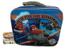 Lunch Box - Planes - Insulated - Orange