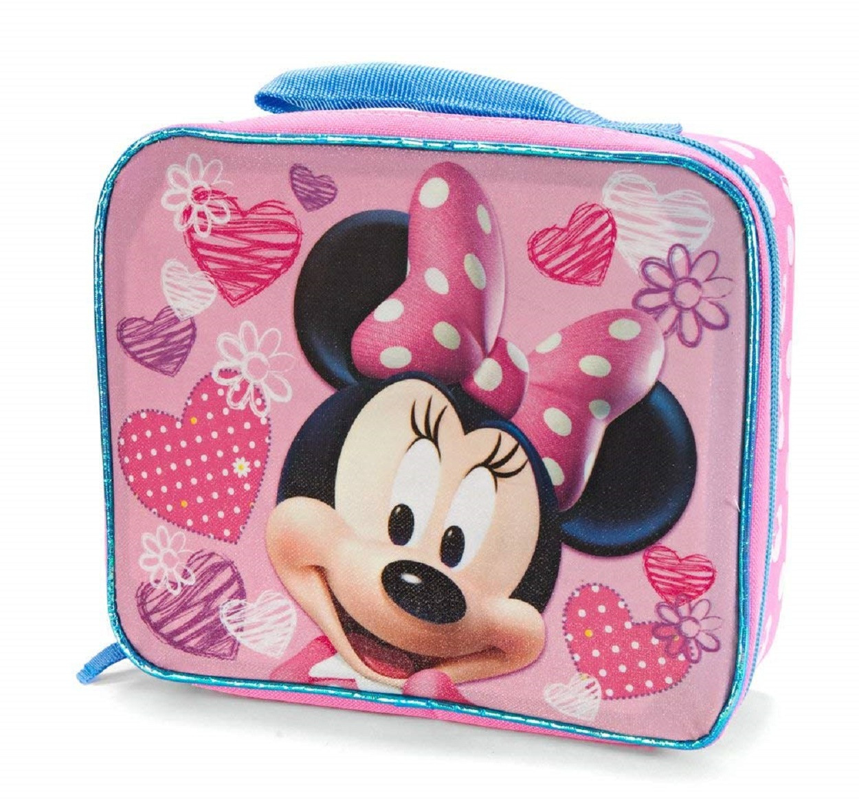 Lunch Box - Minnie Mouse - Insulated - Hearts