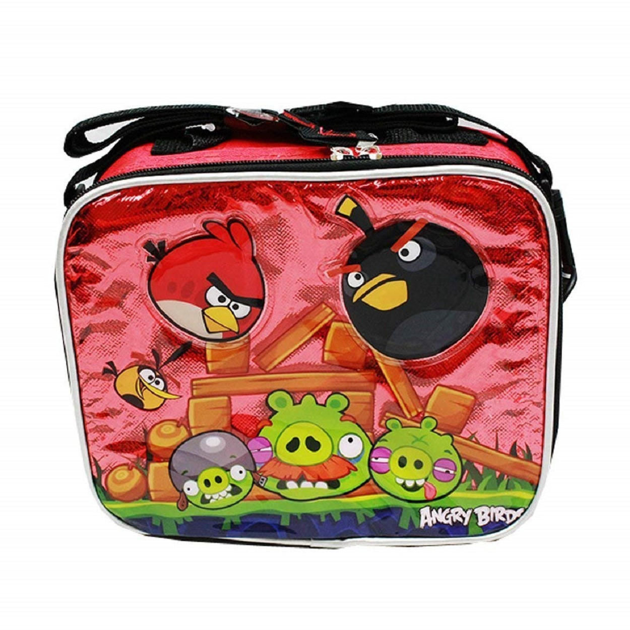 Lunch Box - Angry Birds - Insulated - Red
