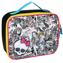 Lunch Box - Monster High - Insulated - Cartoony