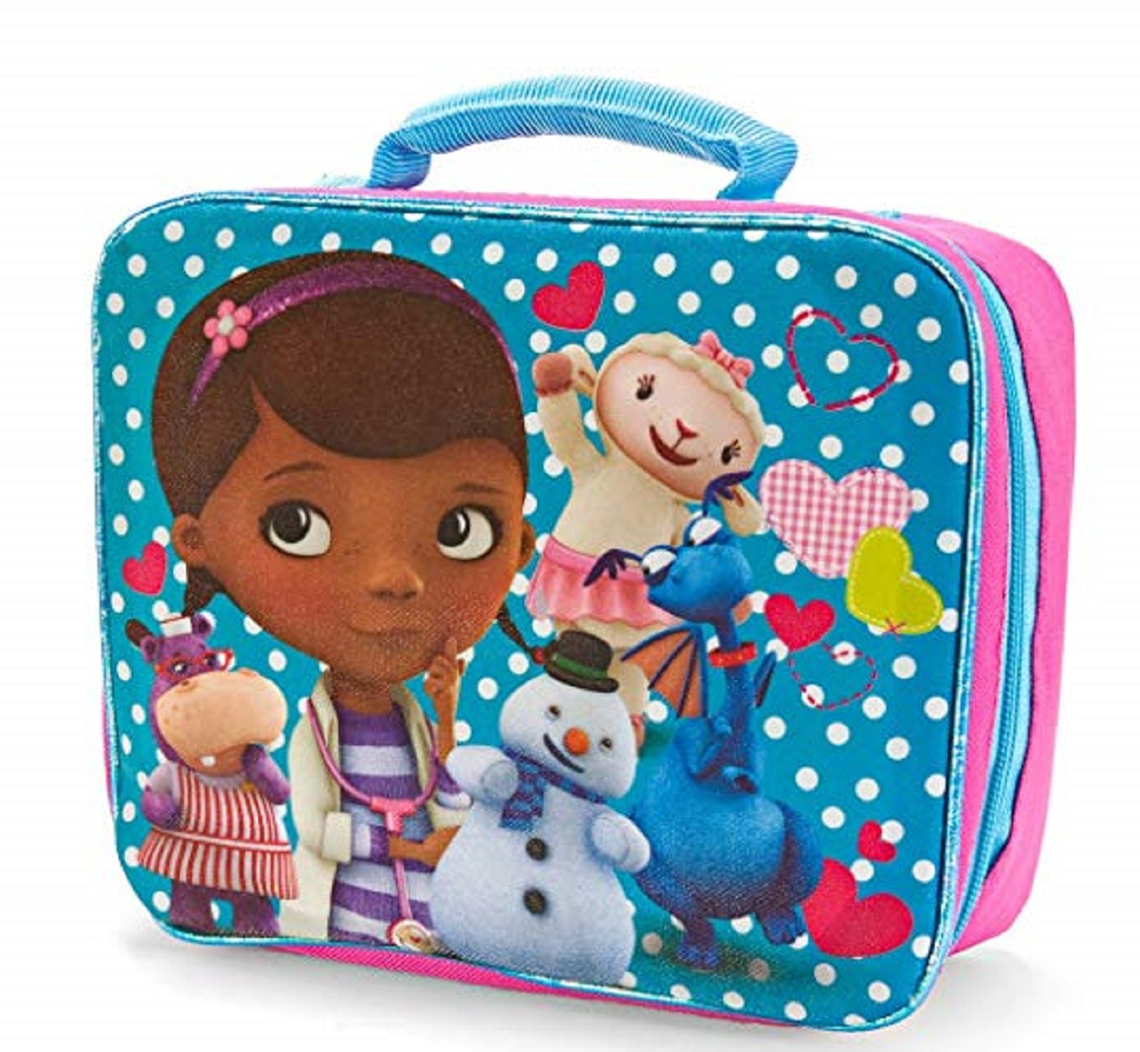 Lunch Box - Doc McStuffins - Insulated - Blue
