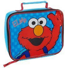 Lunch Box - Elmo - Insulated - Blue
