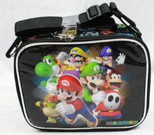 Lunch Box - Super Mario Brothers - Insulated - Black