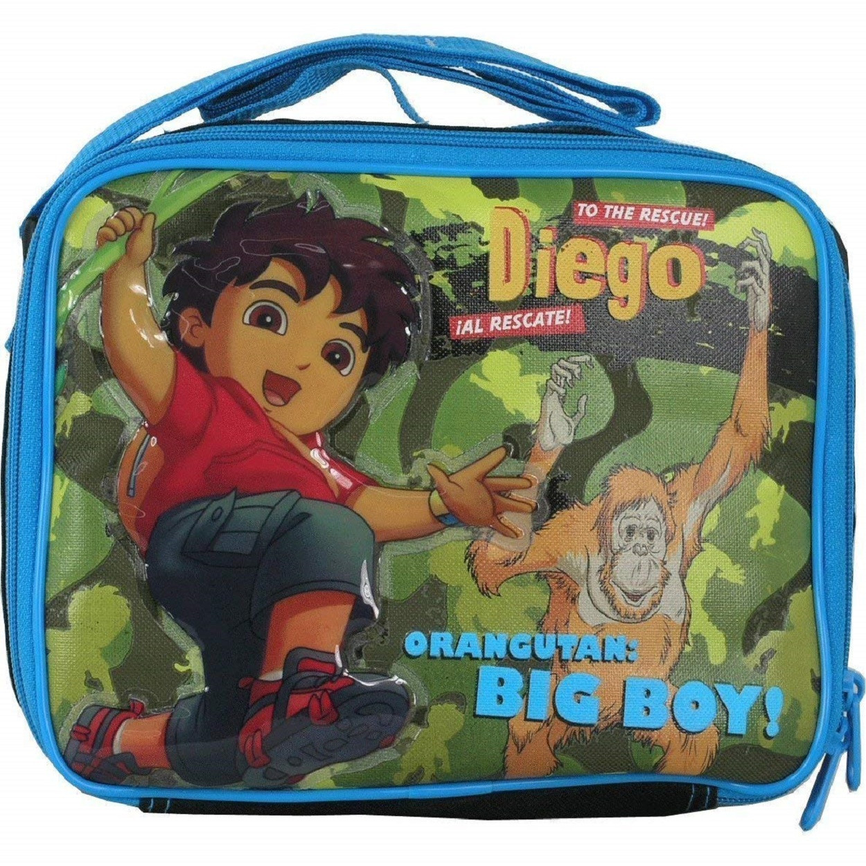 Lunch Box - Diego - Insulated - Blue