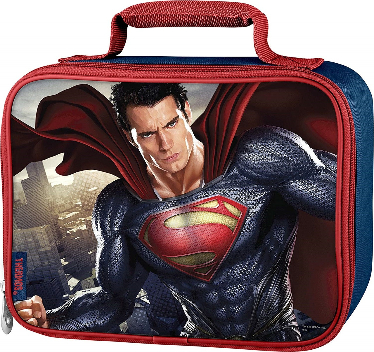 Lunch Box - Superman - Insulated - Blue