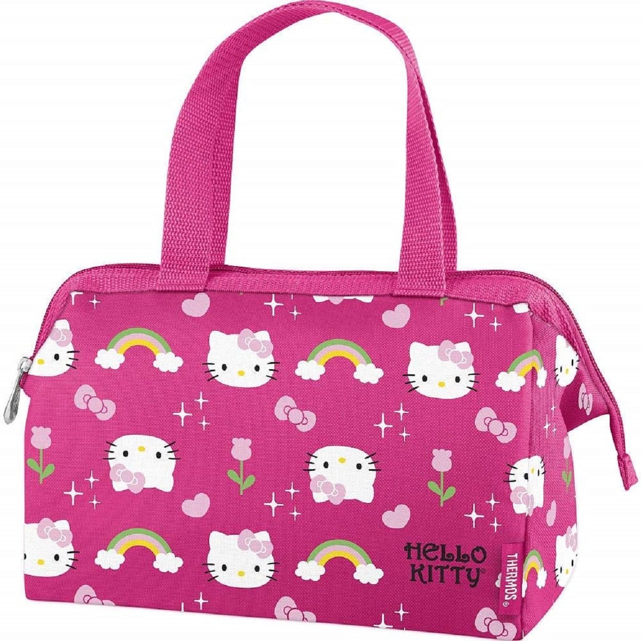 ae989f835 Hello Kitty Lunch Box - Pink w Rainbows | Partytoyz.com
