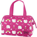 Lunch Box - Hello Kitty - Insulated - Pink w Rainbows