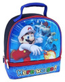 Lunch Box - Super Mario Brothers - Insulated - Dual Zipper - Blue