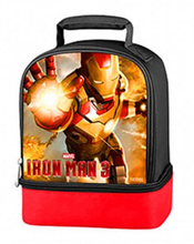 Lunch Box - Avengers - Insulated - Dual Zipper - Ironman