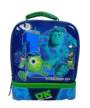 Lunch Box - Monsters University - Insulated - Dual Zipper - Green