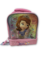 Lunch Box - Sofia the First - Insulated - Dual Zipper - Pink