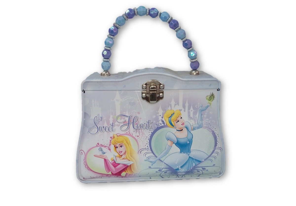 Party Favors - Princess Cinderella-Aurora - Tin Purse - Sweet Heart