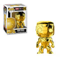 Funko Pop! Marvel Studios 10th Anniversary Iron Man (Chrome) Vinyl Figure #375
