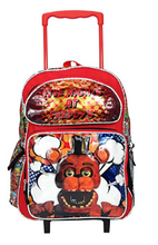 Backpack - Five Nights at Freddy's - Large 16 Inch Rolling