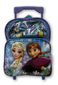 Backpack - Frozen - Small 12 Inch Rolling - Blue Purple