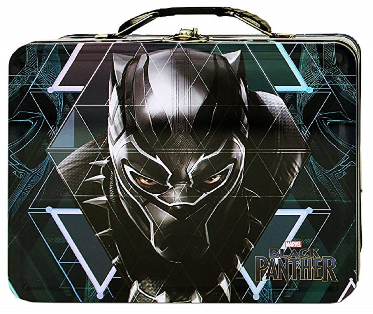 Party Favors - Black Panther - Collectible Tin Box - Face