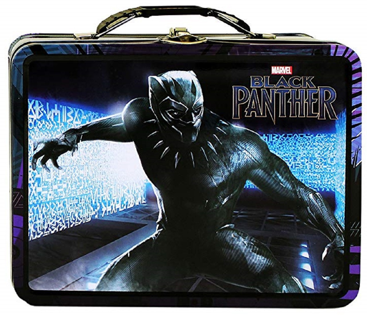 Party Favors - Black Panther - Collectible Tin Box - Body