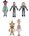 Rick and Morty Action Figure Bundle - Includes the 5 Figures